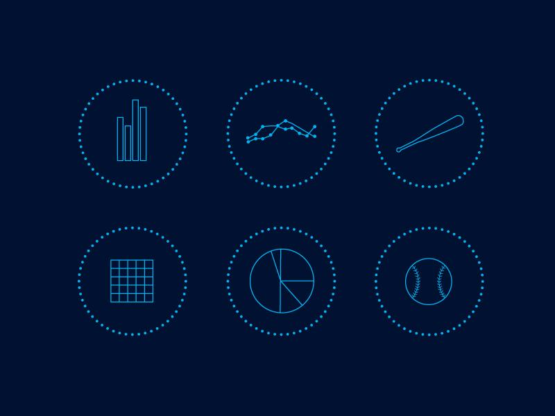 Icon Illustrations  minimal branding illustration icons