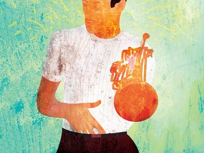 Chet Baker Illustration