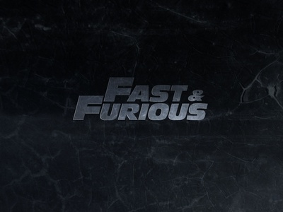 Fast & Furious Infographic