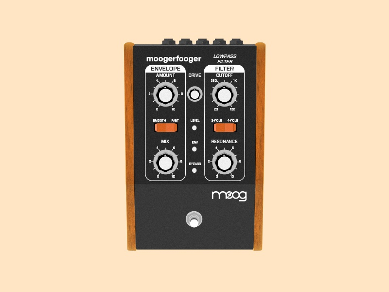 MOOGERFOOGER  equipment texture vector instrument guitar synthesizer moog