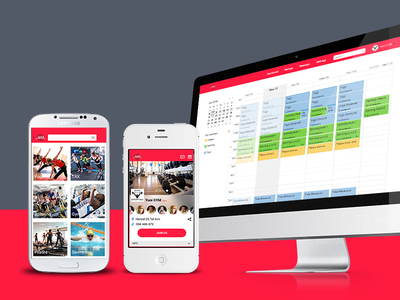 Newmoov map iphone android schedule wellness sport calendar app native