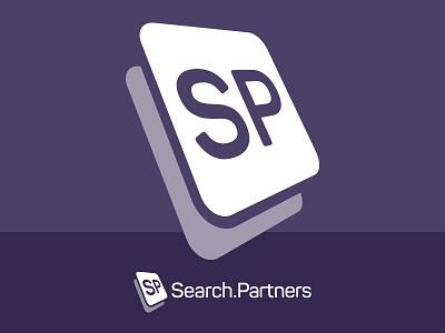Search Partners Logo rubik 3d search logo