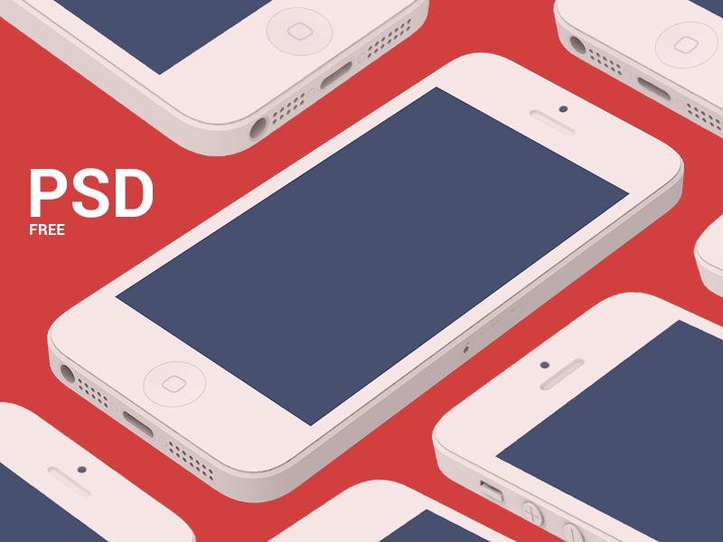 iPhone PSD psd iphone flat