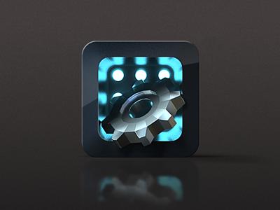 Gear gear icon