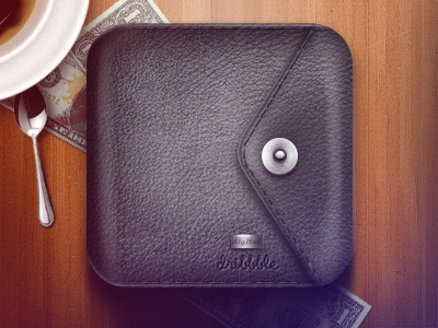 Wallet Icon wallet icon leather