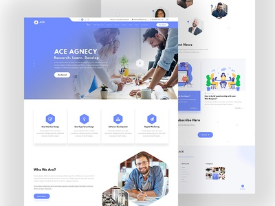 Best Digital Agency HTML Template