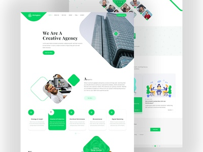 Creative Agency HTML Website Template