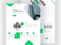 Creative Agency HTML Website Template