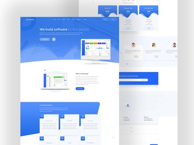 Best Landing Page Software 2018 Designs Themes Templates And Downloadable Graphic Elements On Dribbble