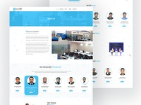 About Us Page uixdesign hero image homepage layouts psd layout mockup ios app webui ui  ux design ui webdesign aboutus page