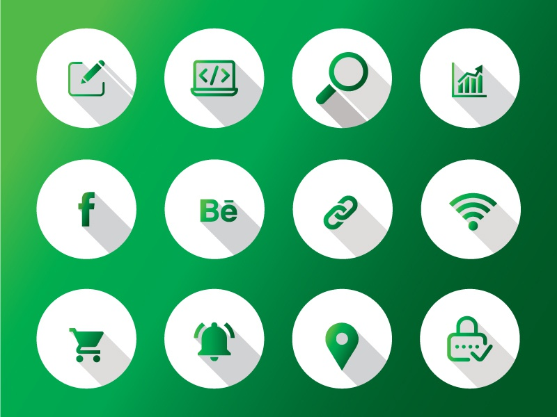 Free Custom Icons Available webicons gradient green mobile app android ios appiicon uidesign ux kit ui pack freeicon mockup free psd xd aic ai symbol icon