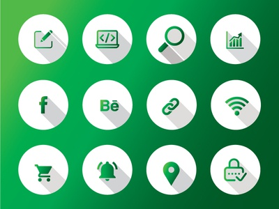 Free Custom Icons Available