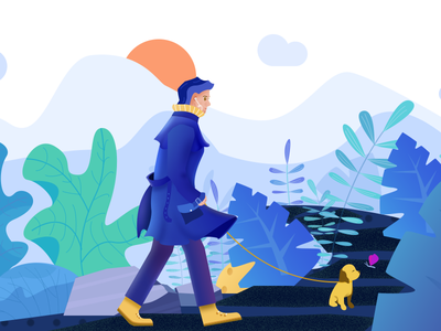 The first shot on dribbble!keep learing~