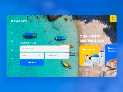 Travel Agency UI