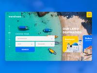 Travel Agency UI
