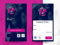 Login - Fitness app