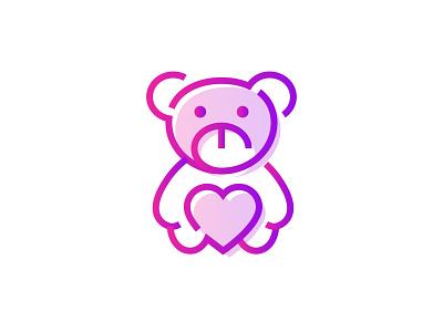 Teddy Bear 🧸👇 celebration valentines day icon gradient toy gift propose day valentines bear teddy teddy bear