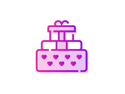 Valentines Day Gift 🎁💕👇 gifts propose gift box surprise gradient heart love valentines day present romantic gift art graphic design
