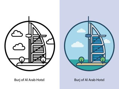 Burj Of Al Arab Hotel
