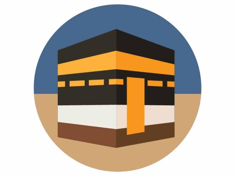 Kaaba - Makkah by Shazia Parveen on Dribbble