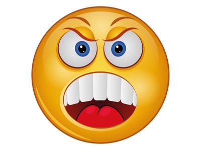 Angry - Emoji Face