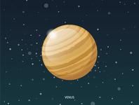 Venus planet solar system