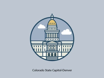 Colorado State Capital-Denver