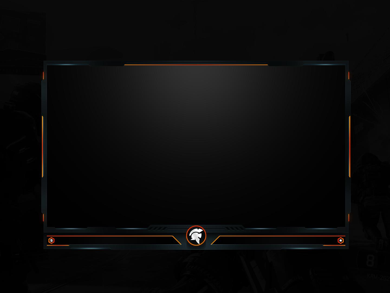 General Stream Overlay Template Design For Mercenary Esports Twitch Tv