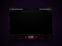 Recent Twitch Overlay Design I Did (Client Work)