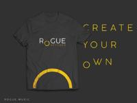 Rogue Records t-shirt