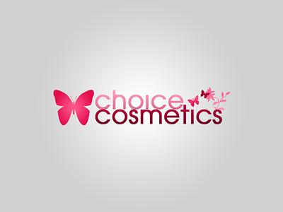 Choice Cosmetics logo logo design web 2.0