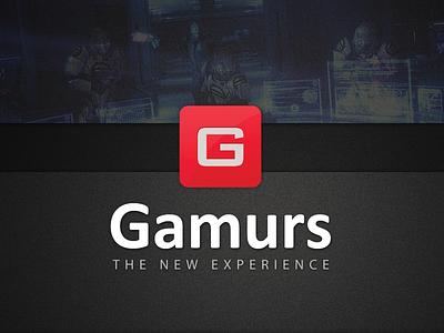 Gamurs Logo logo logo design gaming