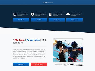 Moo Theme - Index 2 web design responsive template html template modern minimal website