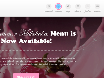 Bubblegum - Responsive One Page HTML Template one page website web design responsive template html bootstrap clean flat modern