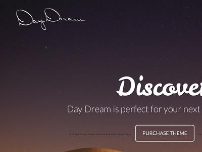 Day Dream website e-commerce responsive clean modern
