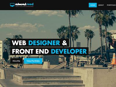 New Homepage...again homepage website responsive modern