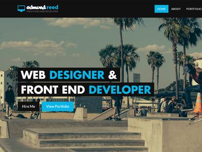 New Homepage...again