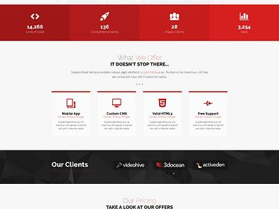 Nexus - Responsive Multipurpose HTML5 Template website responsive html5 template web design theme modern material parallax agency corporate themeforest