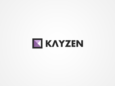 Logo concept triangles wordpress branding brand logo
