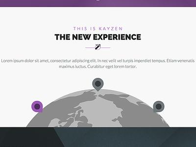 Kayzen   Multi Purpose Html5 Theme web design purple theme flat modern website