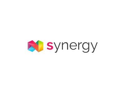 New Synergy Logo synergy creative ux branding brand design modern logo