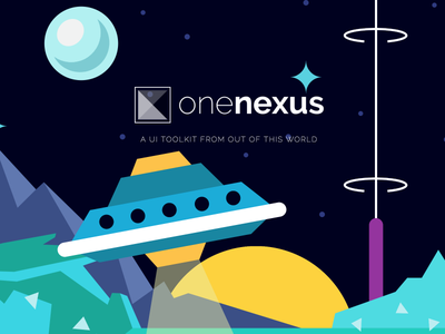 One Nexus v3 modern flat css toolkit frontend ui framework themes theme web design