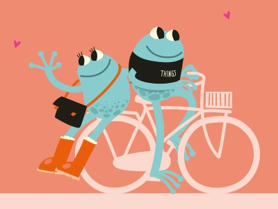 Ribbit ride to love