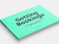 """Getting bookings"" book layout"