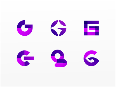 G Letter Exploration logodesign logotypes logotype symbol icon lettering letter symbol gradient icon gradient flat color branding typography logo modern vector dribbble design