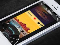 Dribbble App: Explore