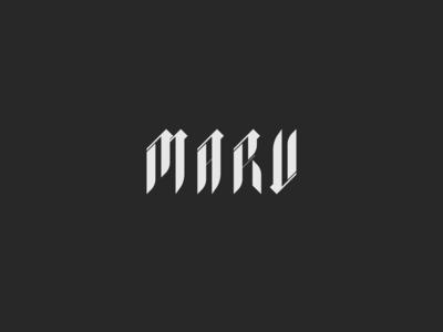 Maru font