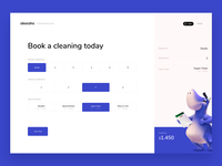 Book a cleaning