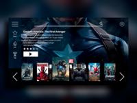 "#daily UI #025 ""TV App"""