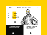 "daily UI 051 ""Press Page"""